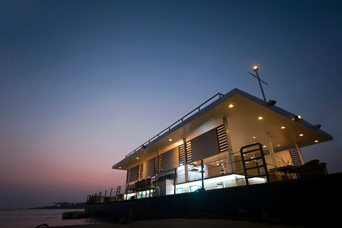 Marine Solutions Floating Restaurant at Goa
